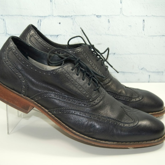 Cole Haan Other - Cole Haan Air Colton Black Casual Wingtip Oxfords 4525bdeb9ef